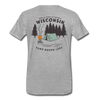 Camp Round Lake Wisconsin Premium T-Shirt - heather gray