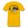 Camp Round Lake Wisconsin Premium T-Shirt - sun yellow