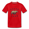 Round Lake See A Bear Kids' Premium T-Shirt - red