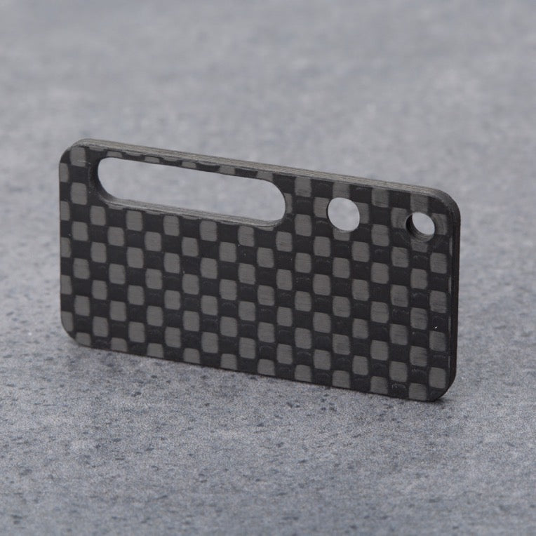 Schumacher CAT L1 CNC machined carbon receiver plate back