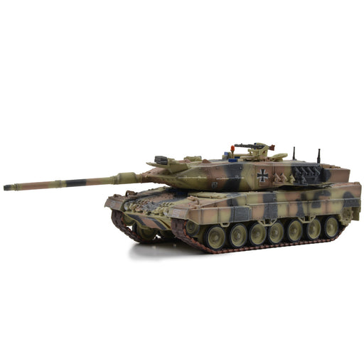 German Kampfpanzer Leopard 2A6 Main Battle Tank - Mixed European Camouflage (1:72 Scale)