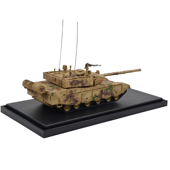 Chinese Peoples Liberation Army ZTZ99A Main Battle Tank - Parade, Digital Camouflage (1:72 Scale)