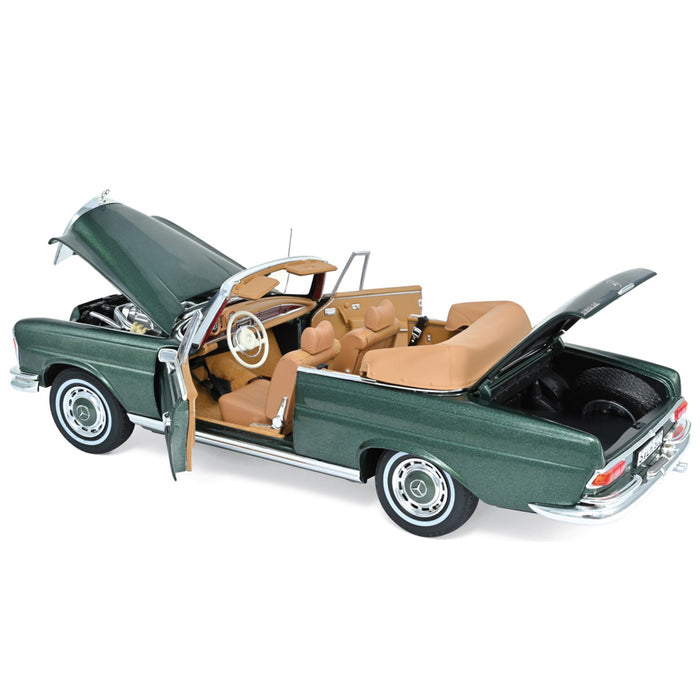 Mercedes-Benz 280 SE Cabriolet 1969 - Green Metallic