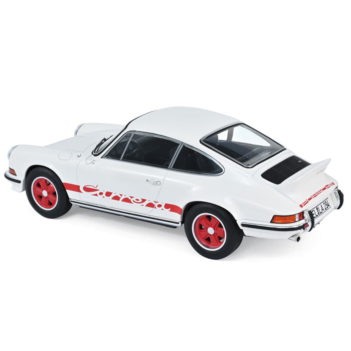 Porsche 911 RS 1973 - White with Red Deco