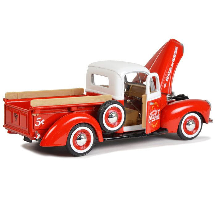 1940 Ford Pickup with Commerical Cooler Accessory