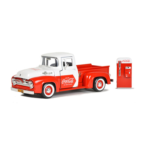 1955 Ford F-100 Pickup with Vending Machine Accessory