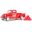 1937 Ford Coca-Cola Pickup with 6  Bottle Cartons