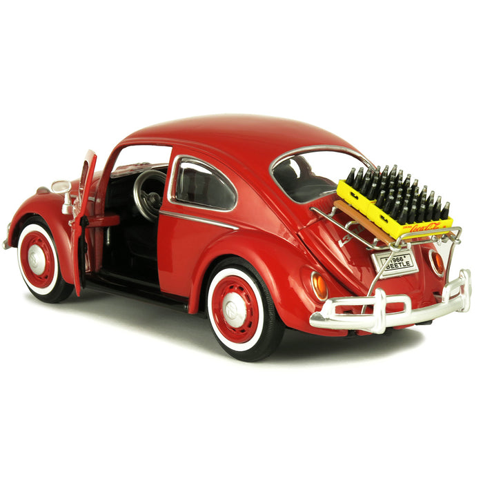 1966 VW Beetle with Rear Luggage Rack with 2 Bottle Cases