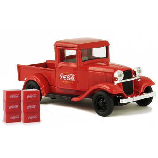 1934 Ford Model A Pickup with 6 Bottle Cartons