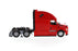 1:50 Freightliner New Cascadia   - With open doors and open hoods  - Red