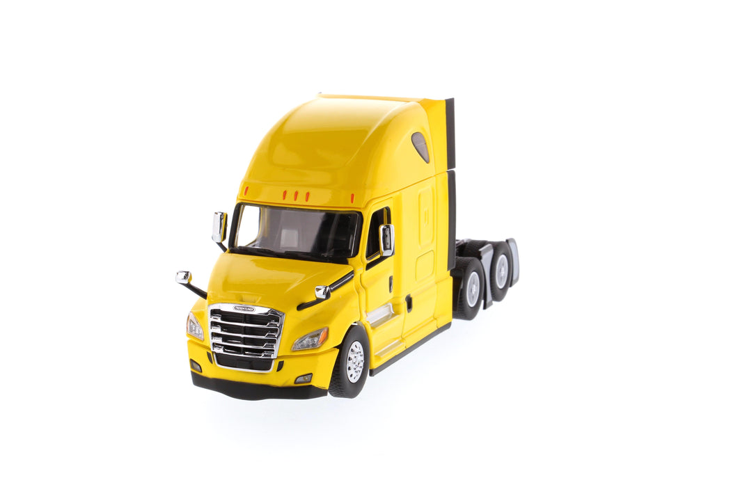 1:50 Freightliner New Cascadia   - With open doors and open hoods  - Yellow