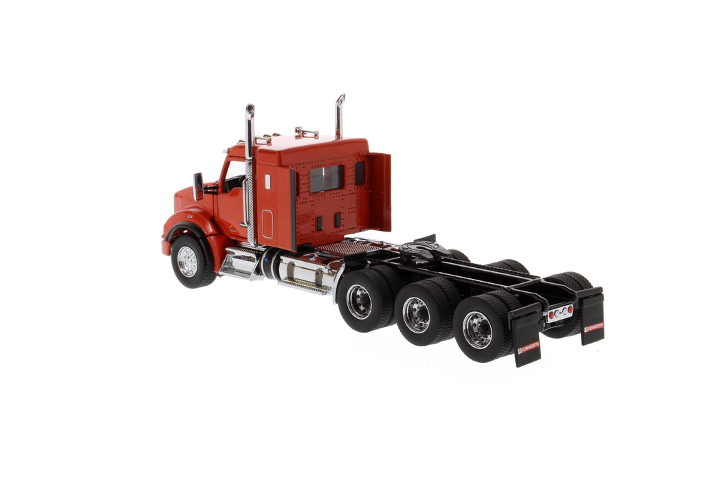 1:50 Kenworth T880 SBFA 40in-Sleeper Tridem Tractor   - Speed-orange cab
