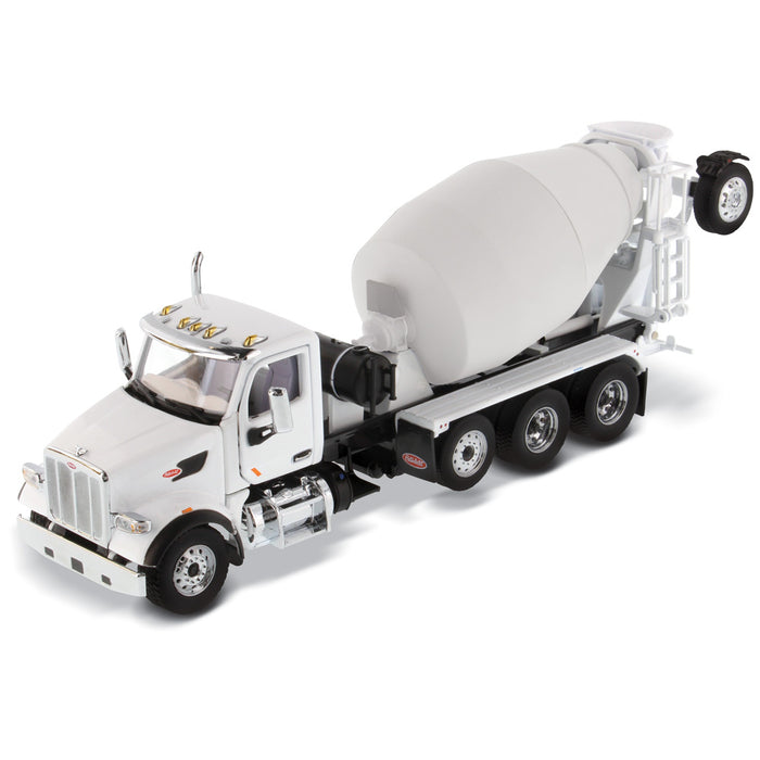1:50 Peterbilt 567 with McNeilus Bridgemaster Mixer  - Red cab + White mixer
