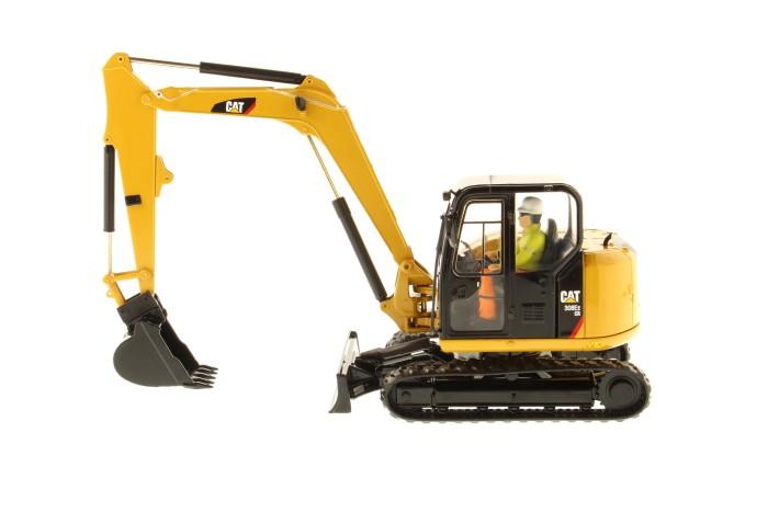 1:32 Cat® 308E2 CR SB Mini Hydraulic Excavator