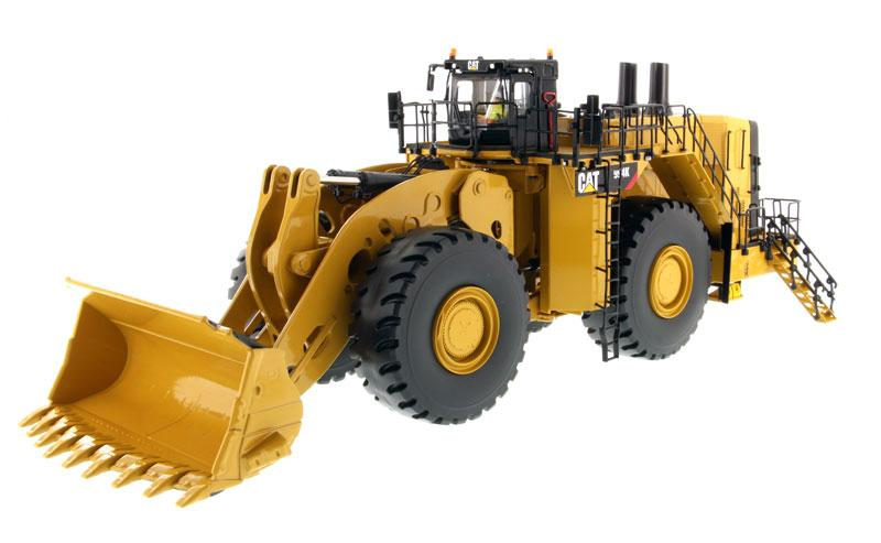 1:50 Cat® 994K Wheel Loader - Rock Bucket Version in Yellow