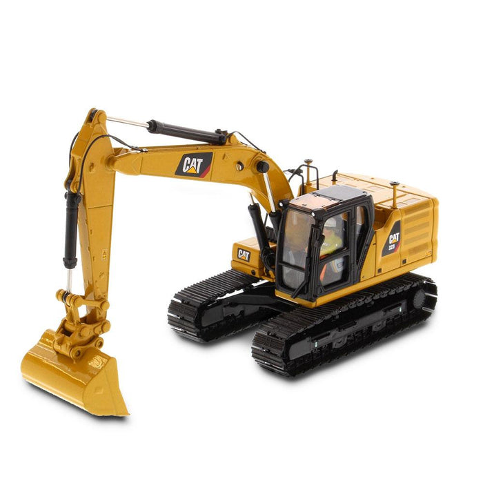 Cat® 323 Hydraulic Excavator with 4 new work-tools - Next Generation