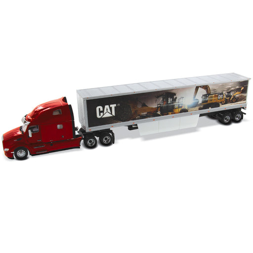 1:50 Peterbilt 579 Sleeper Cab with Cat® Mural Trailers