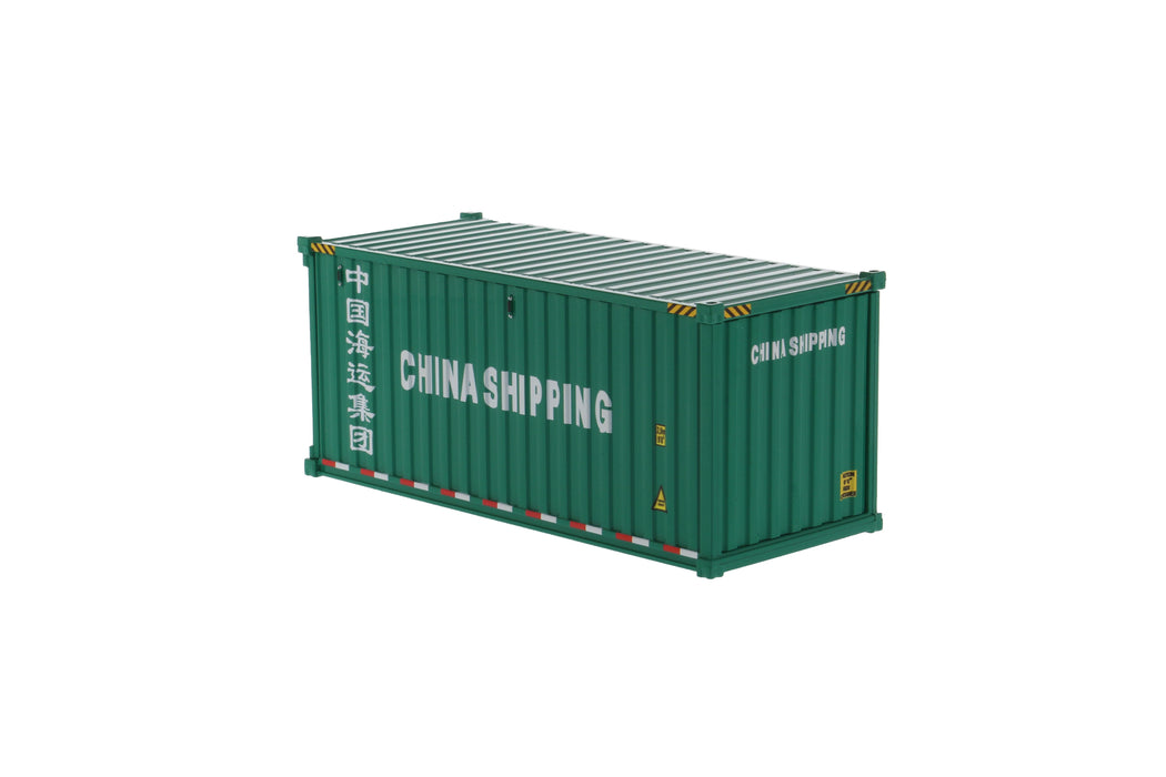 1:50 20' Dry goods sea container  - China shipping (green)