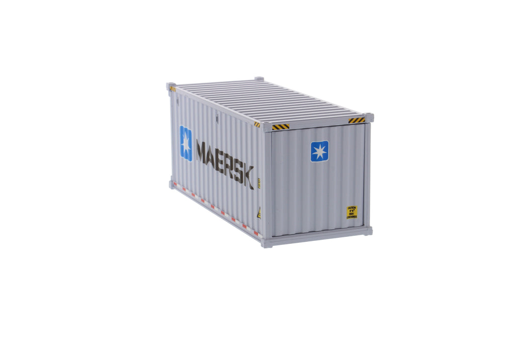1:50 20' Dry goods sea container  - MAERSK (dry in grey)