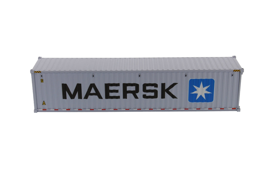 1:50 40' Dry sea container  - MAERSK (dry in grey)