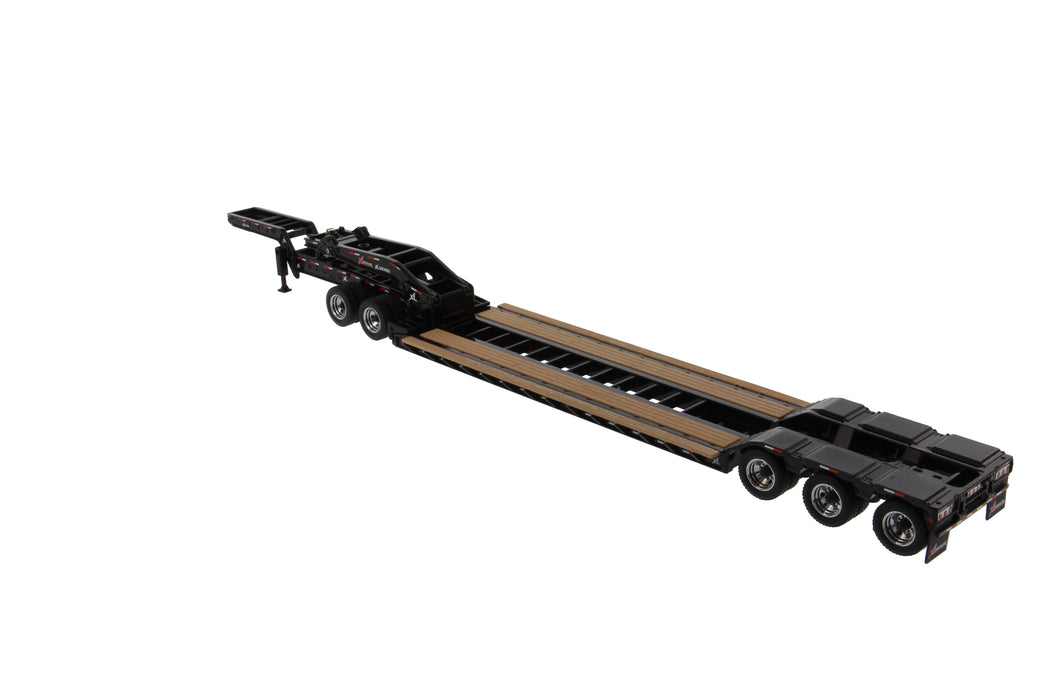 1:50 XL 120 Low-Profile HDG Trailer (Outrigger Style) with 2 Boosters and Jeep
