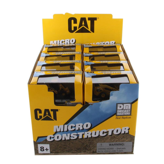 24 Piece Micro Constructor Assortment Pack  in Clear Display Box