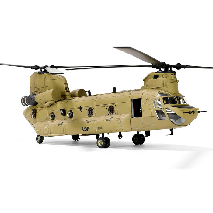 Boeing Chinook CH-47F helicopter (With Air filtration System & Heat Suppressing Exhaust)