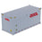 1:50 20' Dry goods sea container  - OOCL (white)