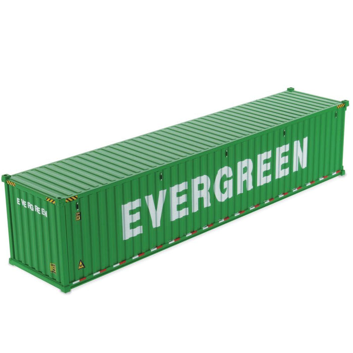 1:50 40' Dry sea container  - EverGreen (dry in green)