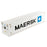 1:50 40' Refrigerated sea container  - MAERSK (refrigerated in white)