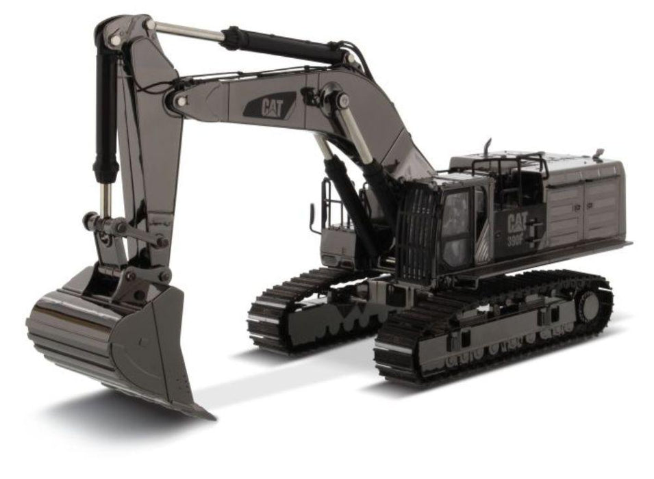 1:50 Cat® 390F L Hydraulic Excavator - Gunmetal Finish