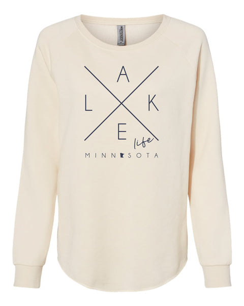"UNISEX ""HOMEBODY"" FRENCH TERRY CREWNECK"