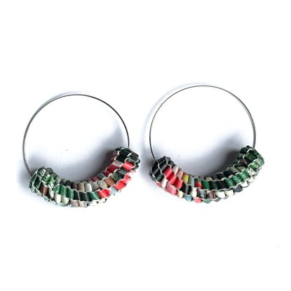 Vmag Hoops Red and Green