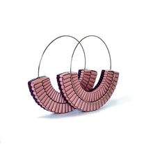 Load image into Gallery viewer, Mezzo Hoops Purple