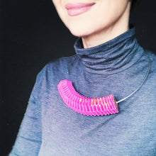 Load image into Gallery viewer, Graffa Necklace in Hot Pink