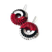Load image into Gallery viewer, Penelope Earrings - Half Half