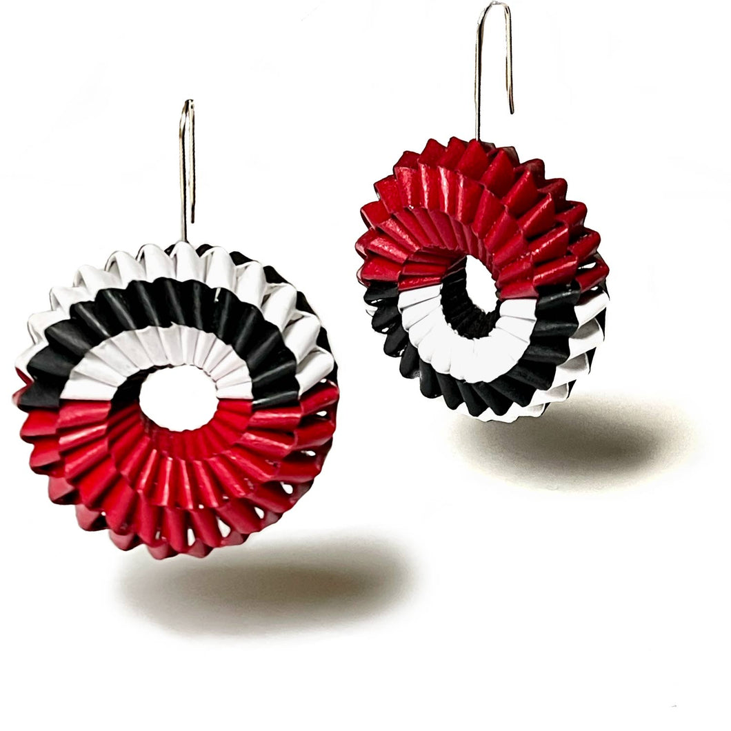 Penelope Earrings - Half Half