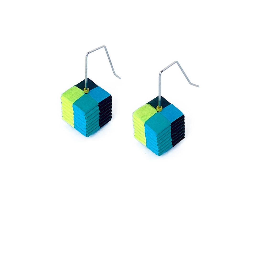 Whistle Earrings Chartreuse
