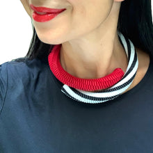 Load image into Gallery viewer, Red Abbraccio Necklace