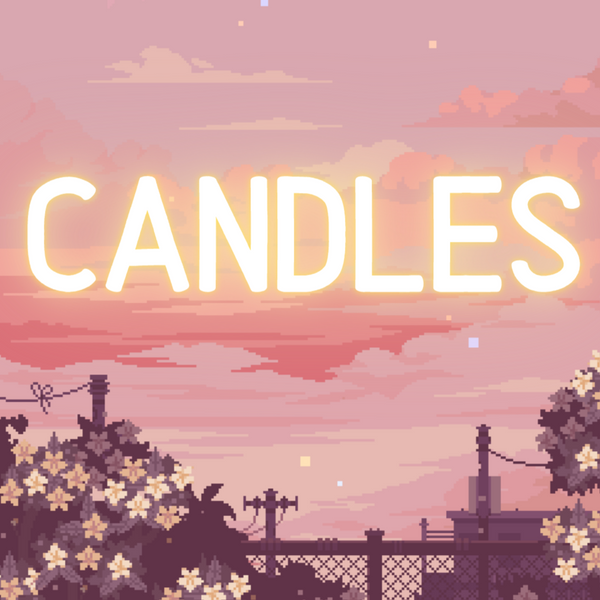 Anime Collection Candles