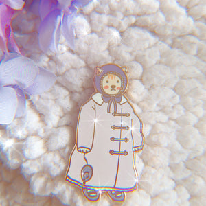 Coat Cat Pin - High Noon Studios Shop