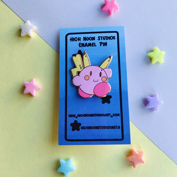 Pika Boi Enamel Pin - High Noon Studios Shop