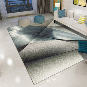 160*230cm Modern Abstract Printed Patterned Carpet