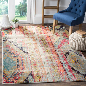 Colourful Traditional Vintage Area Rug Carpet for Living Room Hall