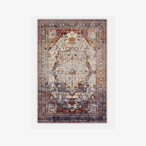 Nice Vintage Traditional Design Area Floor Rug with Non-Slip Backing Sizes Customizable