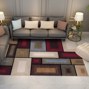 Modern Colorful Geometric Rugs for the Living Room Hall Bedroom