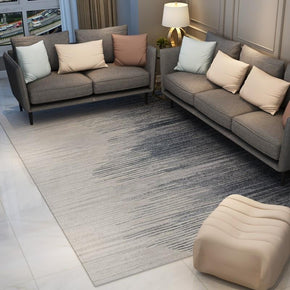 120*160cm Grey White Gradient Modern Rug