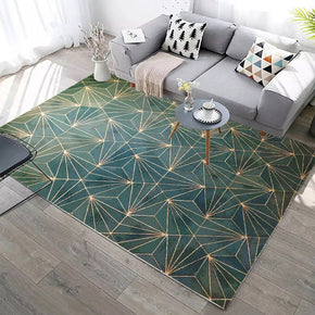 120*160cm Green Many Lines Modern Geometric Contemporary Rugs