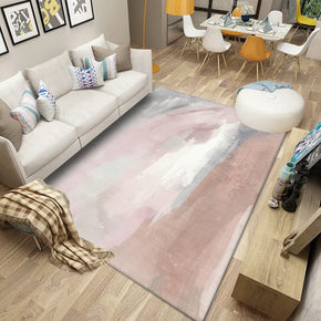 Pink Abstract Gradient Modern Pattern Rugs Polyester Carpets for Office Bedroom Hall Living Room Dining Room