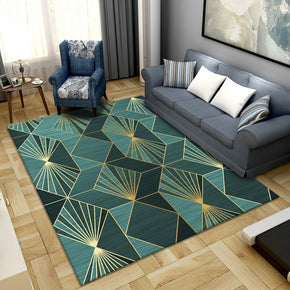 Small Fresh Abstract Simple Modern Rug Bedroom Living Room Sofa Rugs Floor Mat 27